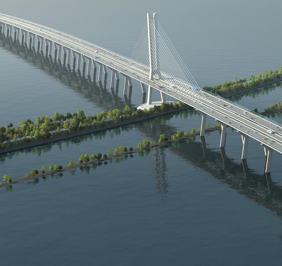 L'ingénierie la plus moderne pour la construction du nouveau pont Champlain