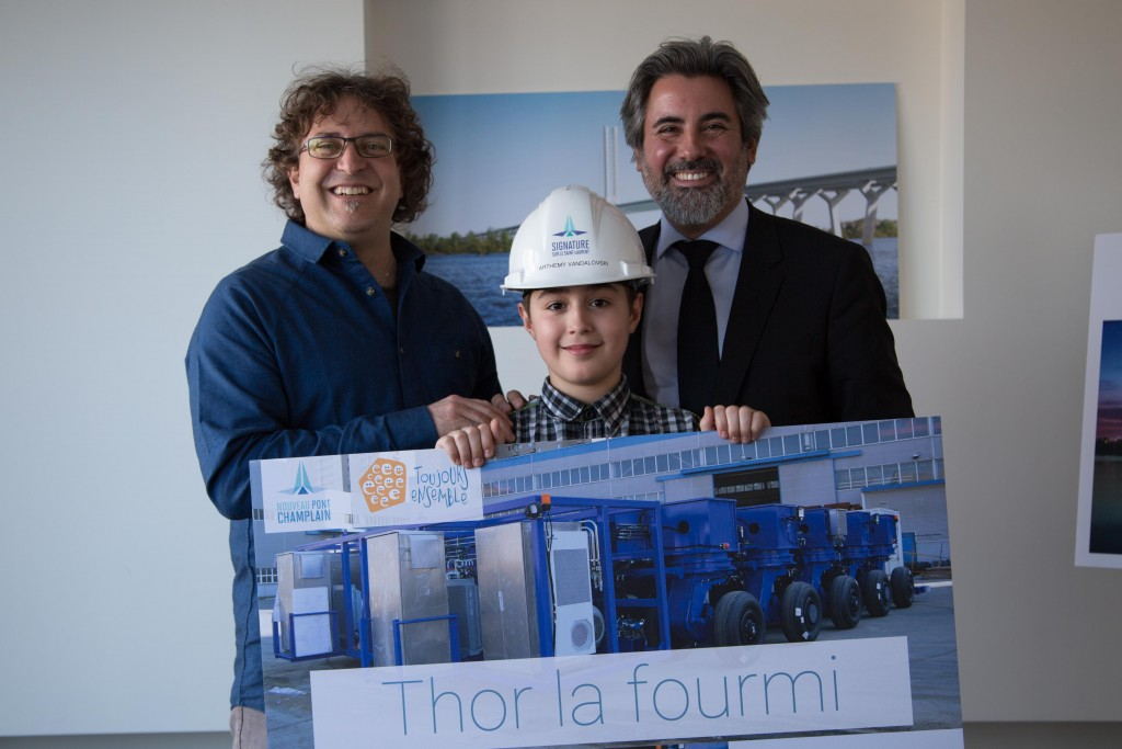 """Thor la fourmi"" supertransporter"